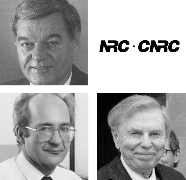 Nestor Burtnyk, Ken Pulfer, and Marceli Wein