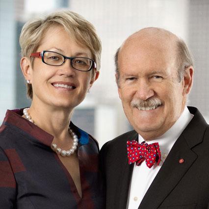 David Martin and Nancy Knowlton