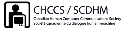 Canadian Human-Computer Communications Society (CHCCS) / Société canadienne du dialogue humain-machine Canadian Human Computer Communications Society / Société canadienne du dialogue humain-machine